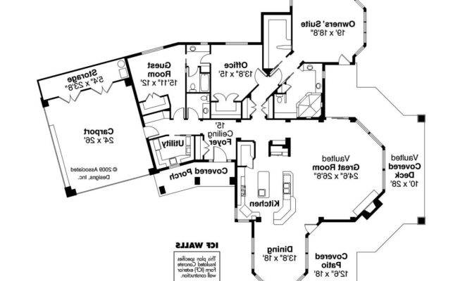 Florida House Plan Burnside Floor