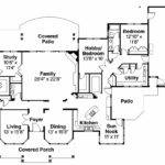 Florida House Plan Cloverdale Floor