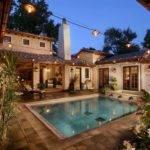 Florida House Plans Courtyard Pool Style