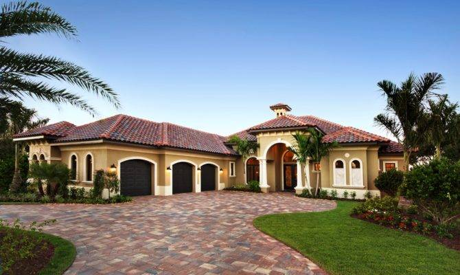 Florida Lifestyle Homes New Luxury Model Architecture Design