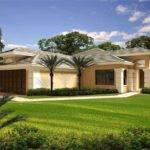 Florida Style Home Plan Bedrms Baths