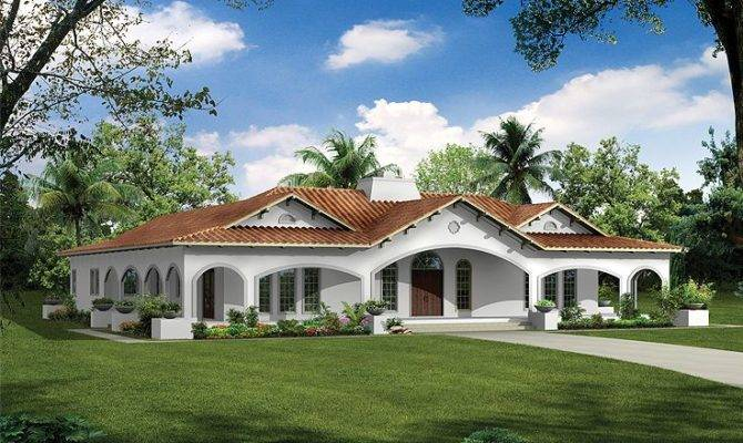 Florida Style House Plans Exterior Ideas