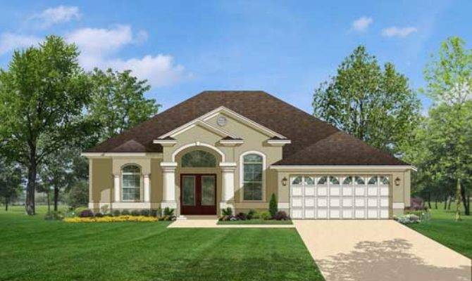 Florida Style House Plans Square Foot Home