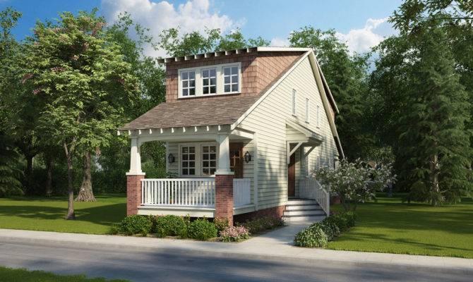 Foot Wide House Plan Narrow Urban Lot Gmf