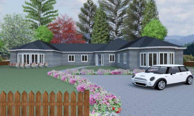 Four Bedroom Bungalow Plan Blakemere