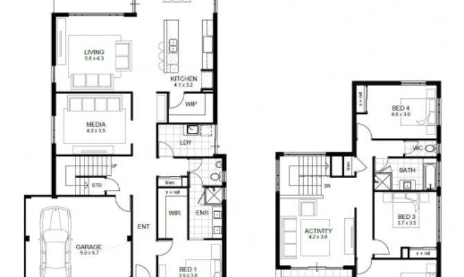Four Bedroom Floor Plan House Plans