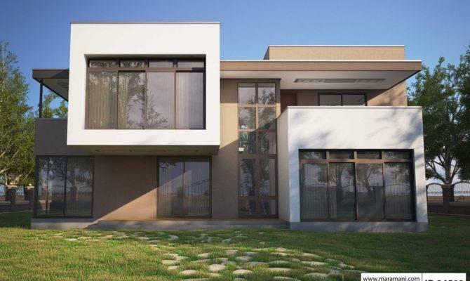 Four Bedroom Modern House Design Plans