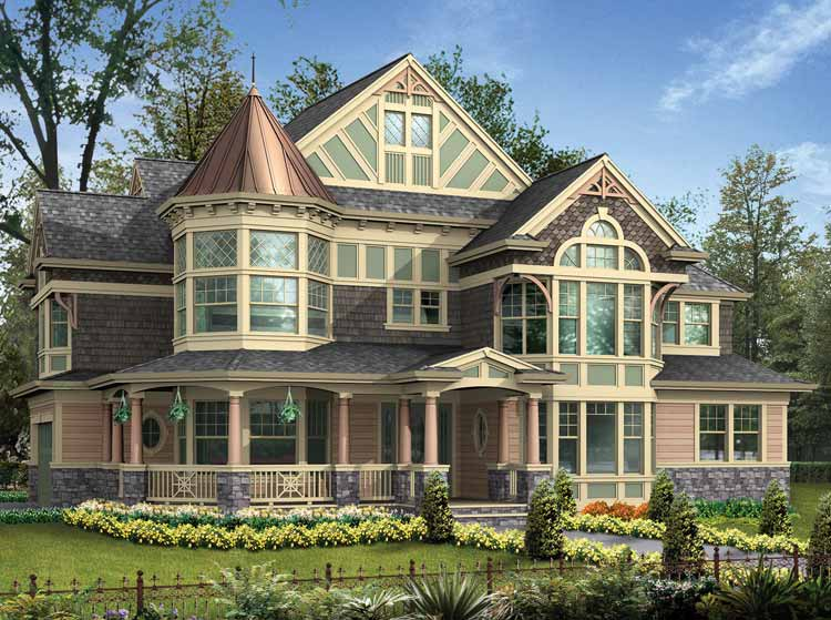 17 Photos And Inspiration 3 Story Victorian House Plans ...