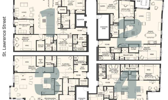 Four Different Floor Plans Onmunjoyhill