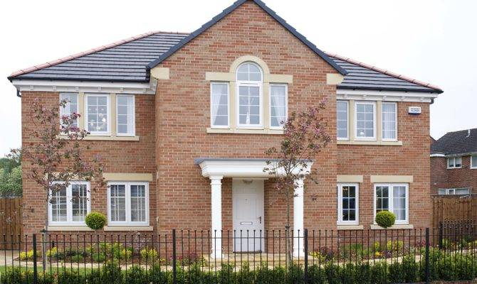 Four Five Bedroom Homes Set Western Fringes Darlington