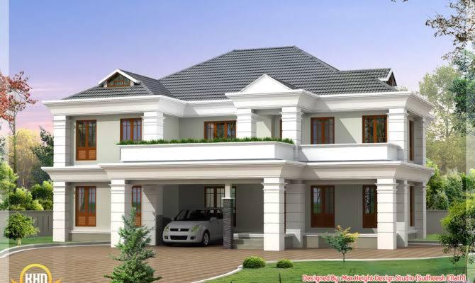 Four India Style House Designs Kerala Home Design