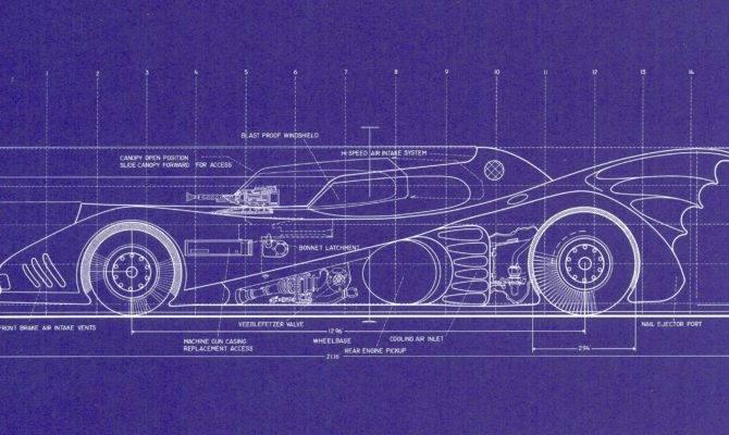 Four Lithograph Blueprints Each Larger