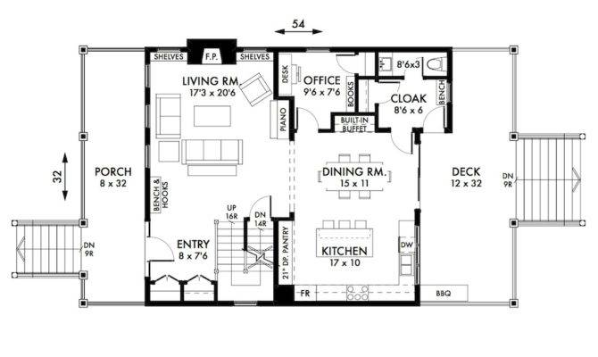 Foursquare House Plan Main