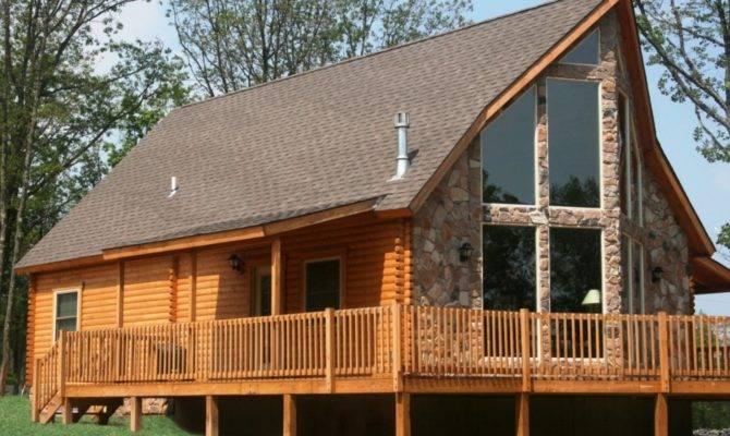 Frame Cabin Kits Alpine Ridge Log Home Kit Conestoga