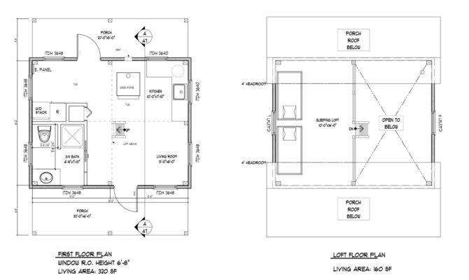 Frame Cabin Plans