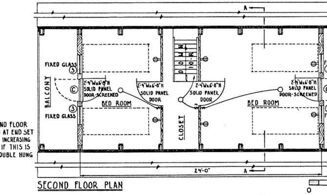 Frame Home Cross Section Floor Plan