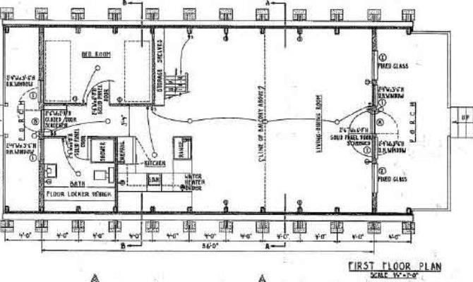Frame House Plan Deck