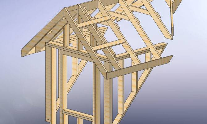 Frame House Plans Dormers Cottage