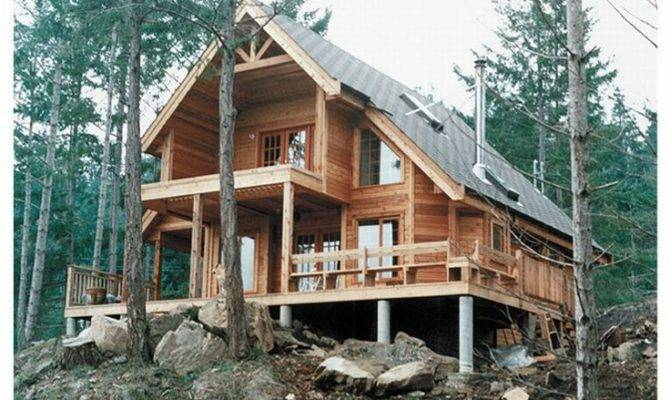 Frame House Plans Home Plan Weekend Cabin Design