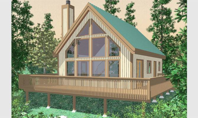 Frame House Plans Steep Rooflines
