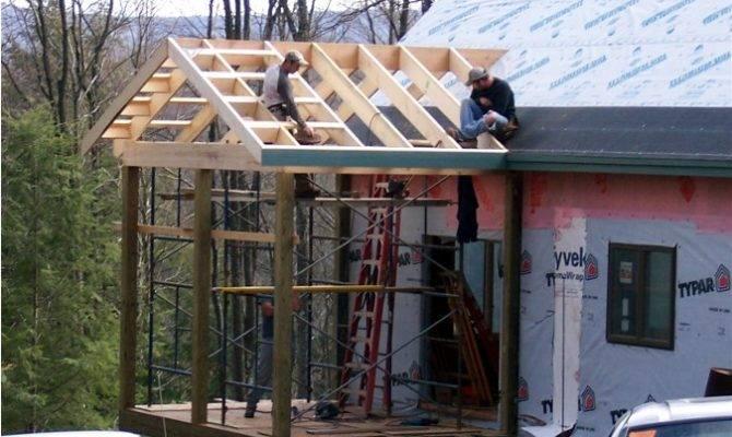 Framing Screened Porch