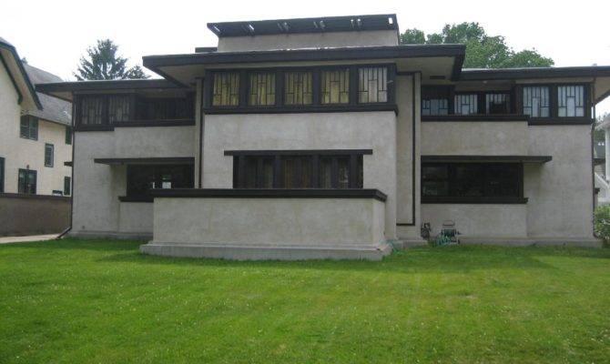 Frank Lloyd Wright Prairie School Architecture Historic