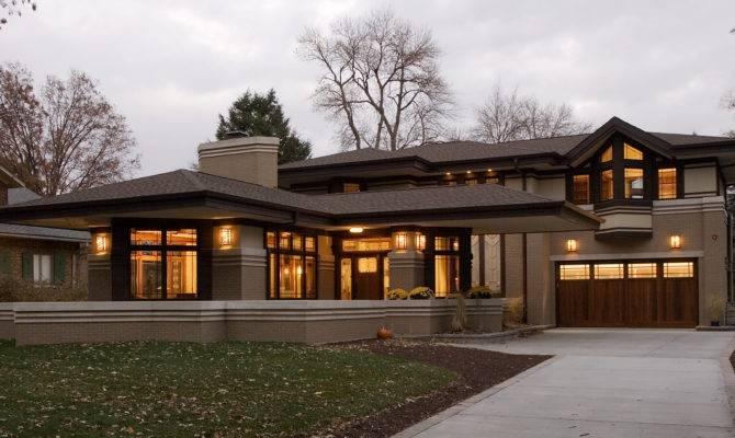 Frank Lloyd Wright Prairie Style West Studio Architects