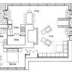 Frank Lloyd Wright Seth Peterson Cottage Floor Plan