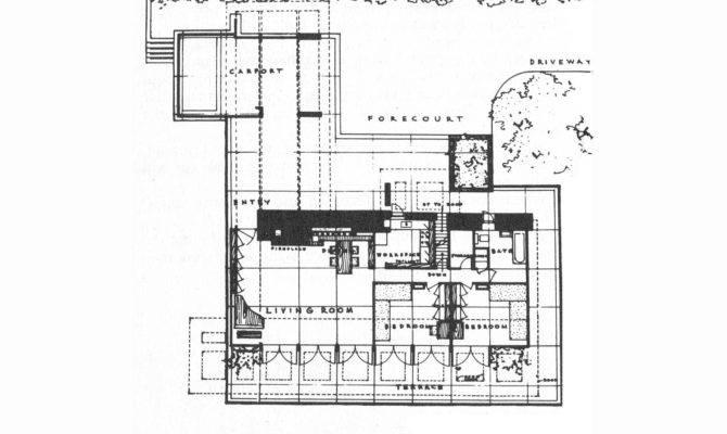 Frank Lloyd Wright Usonian Style George Sturges House
