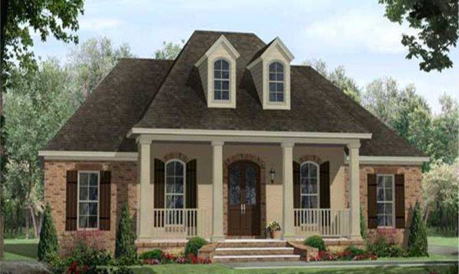 French Acadian Style House Plans Design