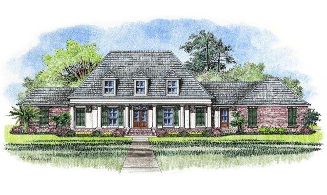 French Acadian Style House Plans South Louisiana