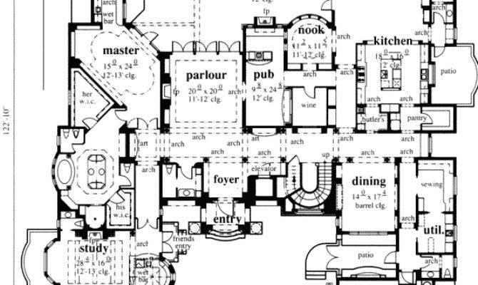 French Chateau Floor Plan Abg Alpha Builders Group
