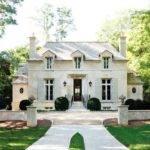 French Chateau Home Exterior Atlanta Homes