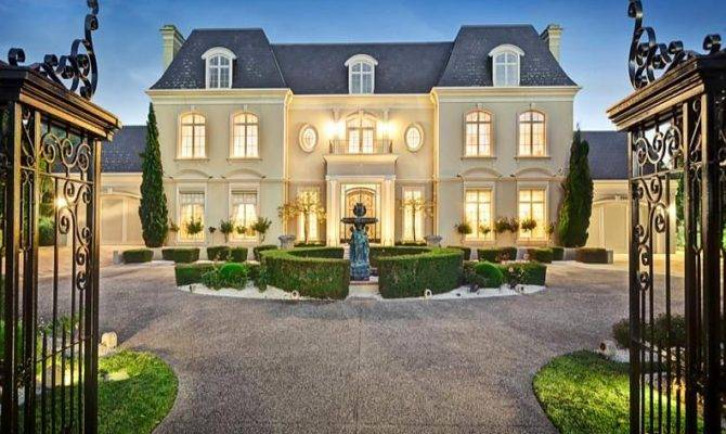 French Chateau House Plans Beautiful Style