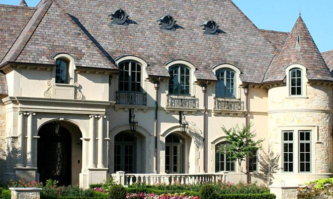 French Chateau Style Home Elevations Pinterest