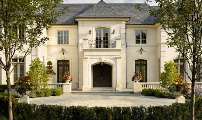 French Chateau Traditional Exterior Chicago