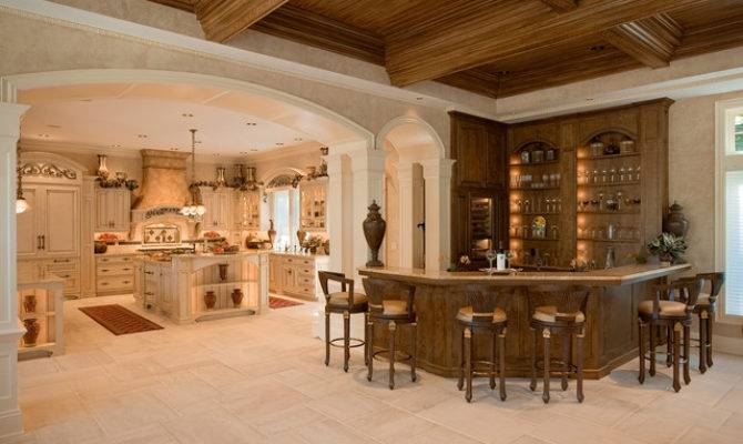 French Colonial Style Kitchen Mediterranean