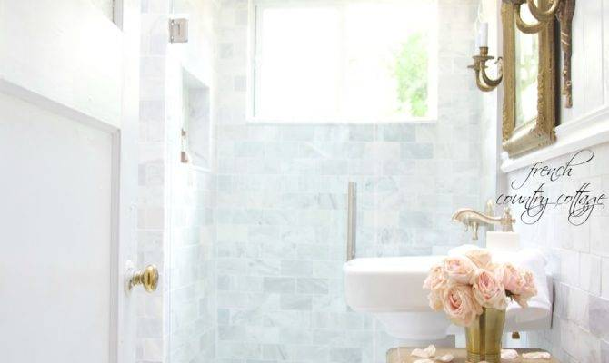 French Cottage Bathroom Renovation Reveal