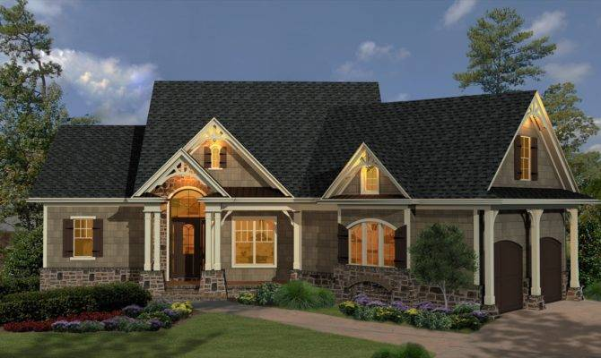 French Cottage Home Plans