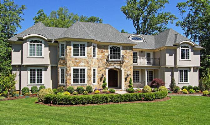 French Country Colonial House