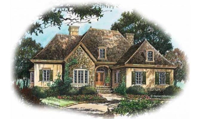 French Country Cottage House Plans Eplans Plan