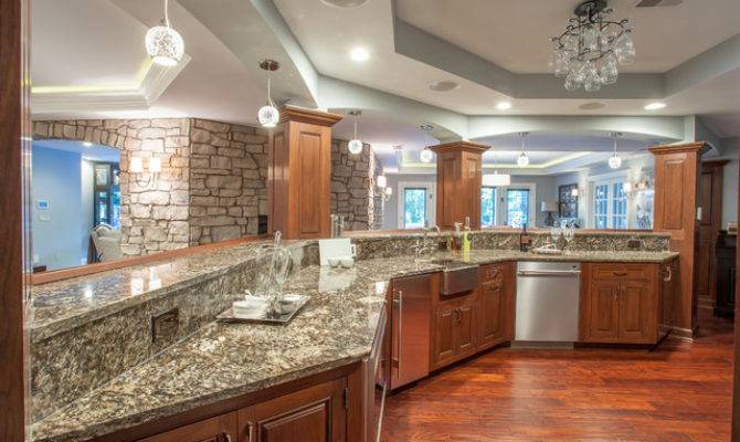 French Country European Style Home Traditional Kitchen