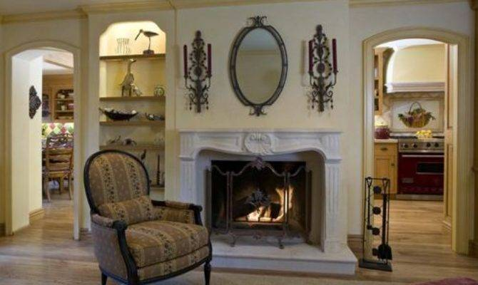 French Country Fireplace Mantles Houzz