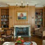 French Country House Living Room John Malick Associates