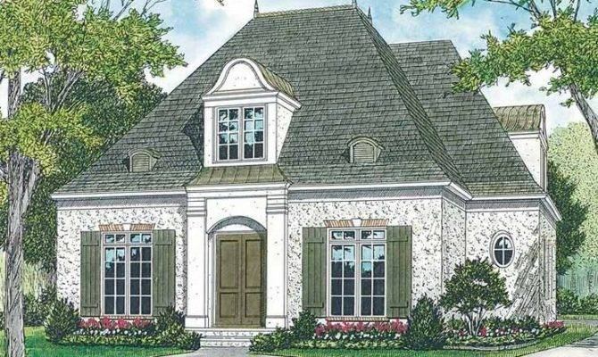 French Country House Plan Cottage Style Homes Pinterest
