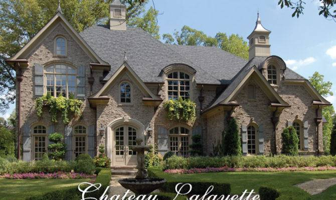 French Country House Plan Luxurious European Floor
