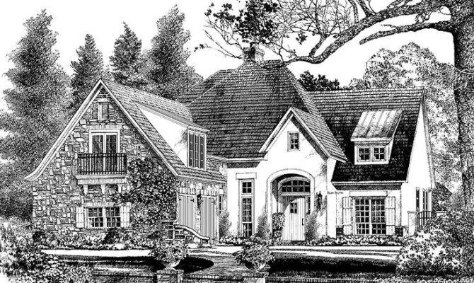 French Country House Plan Square Feet