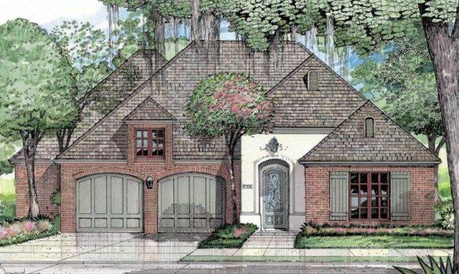 French Country House Plans Acadian