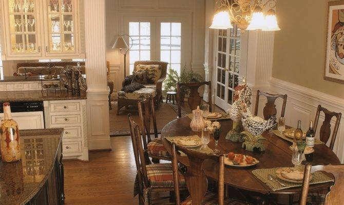French Country Kitchen Leslie Newpher Interiors High End