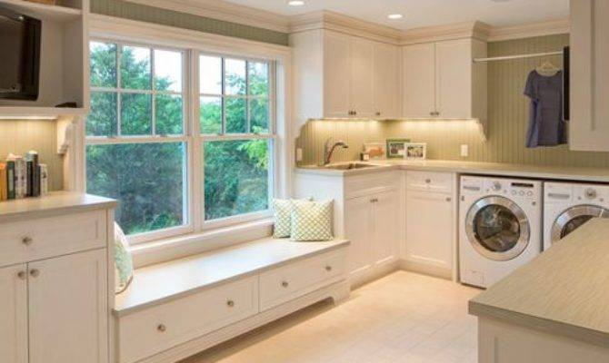 French Country Laundry Room Design Ideas Remodels Photos